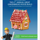 4th Annual Great Gingerbread House Build