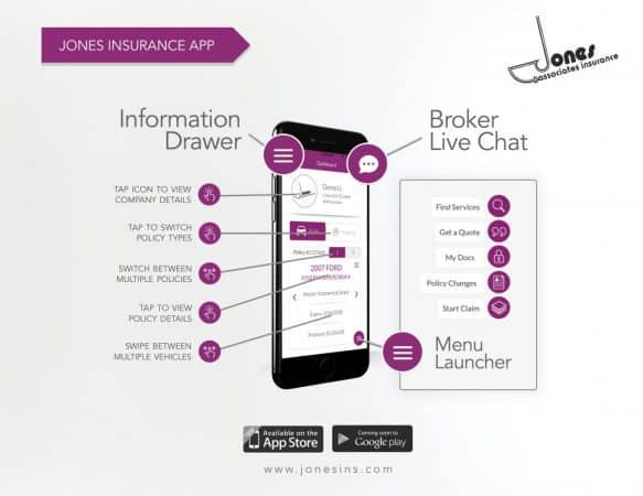 About the Jones Insurance App